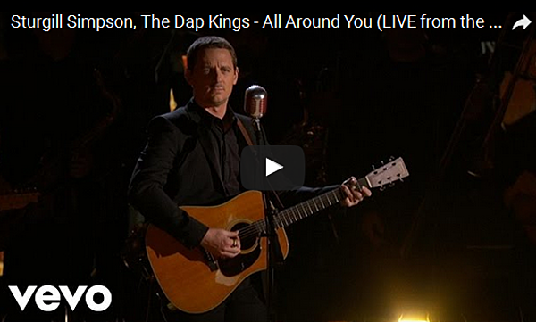 Sturgill simpson performs all around you at 2017 grammy Sturgill simpson grammy performance