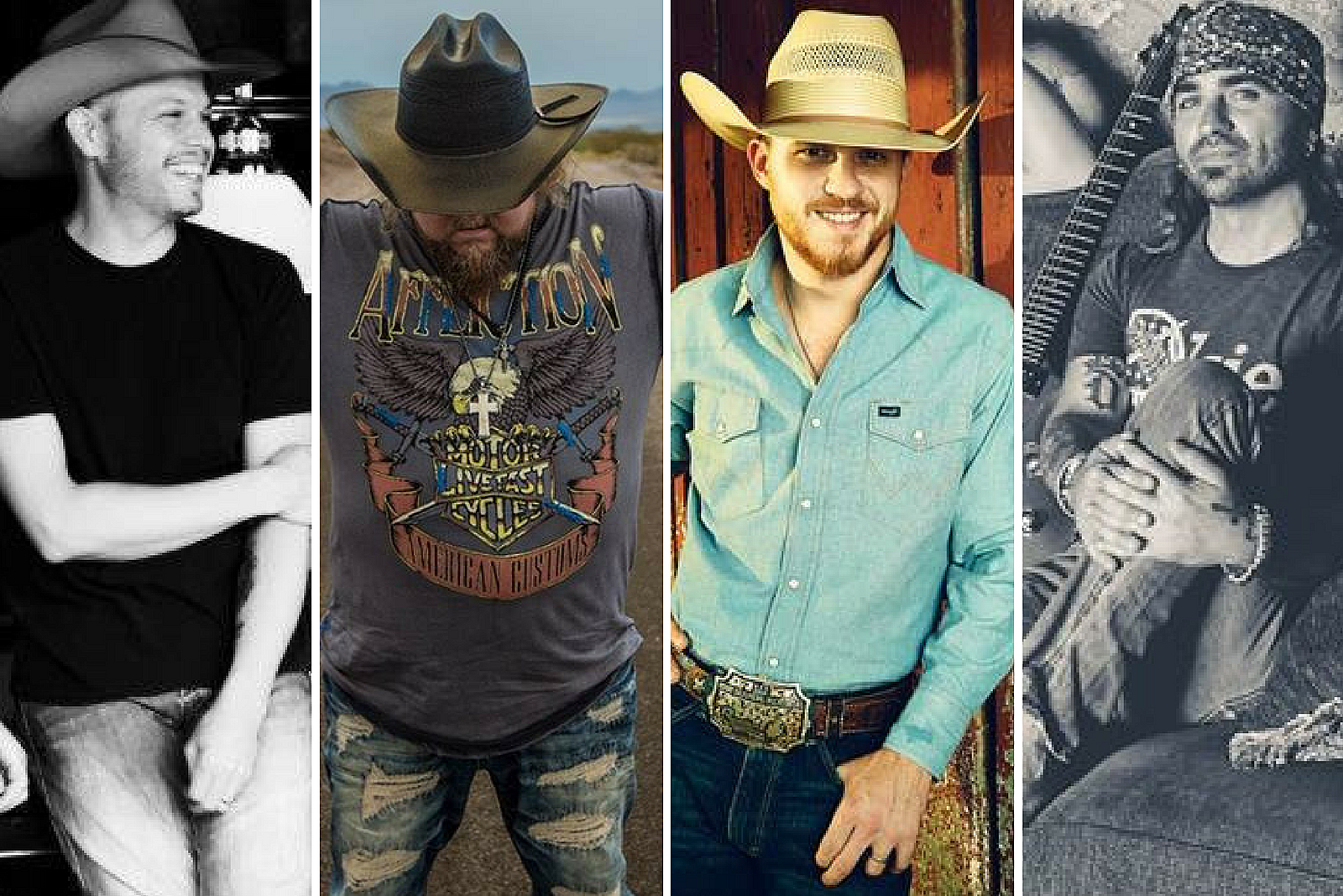 Courtesy of Jason Boland, Colt Ford, Cody Johnson, The Departed